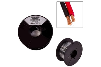 2 CORE 4MM x 30 METRES CABLE WIRE WIRING AUTOMOTIVE TRAILER CARAVAN TRUCK OWL