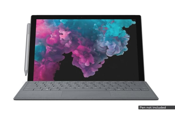 Microsoft Surface Pro 6 (i5, 8GB RAM, 128GB SSD, Platinum) with Signature Type Cover