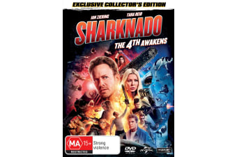 Sharknado 4 The 4th Awakens DVD Region 4