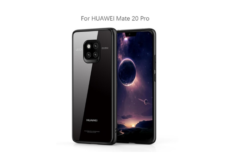 Tpu Skin Protective Phone Case Cover Compatible For Huawei Smartphone Black Huawei Mate20Pro