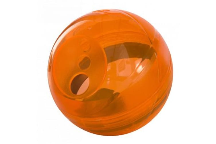 Rogz Tumbler Treat Dispenser Orange