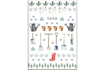Garden  - 2020 Diary Planner A5 Padded Cover by The Gifted Stationery