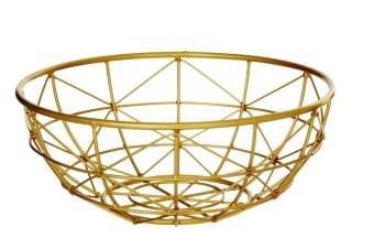 Meknes Gold Basket Small