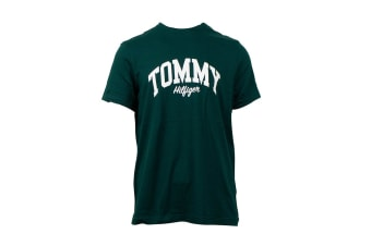 Tommy Hilfiger Men's Graphic Tee (Pine, Size M)