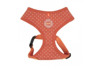 Puppia Dotty Harness Orange - Small