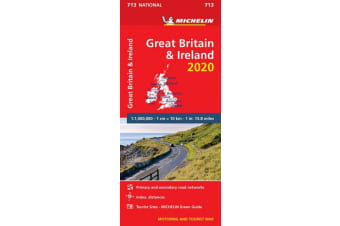 Great Britain & Ireland 2020 - Michelin National Map 713 - Map
