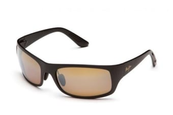 Maui Jim Haleakala H4192M Matte Black Mens Womens Sunglasses Polarised