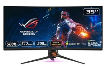 ASUS ROG Swift PG35VQ Gaming Monitor - 35 inch, Ultra-WQHD, HDR, 21:9 Curved,