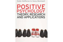 Positive Psychology - Theory, Research and Applications