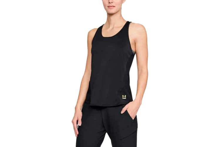 Under Armour Women's Perpetual Tank (Black, Size Extra Small)