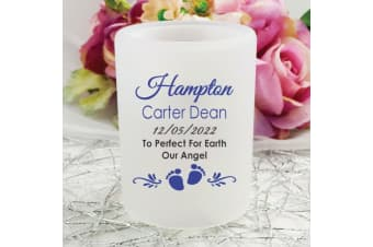Personalised Baby Memorial Tea Light Candle Holder