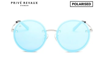Prive Revaux The Musician Men/Women Mirror Round Fashion Eyewear Sunglasses Blue