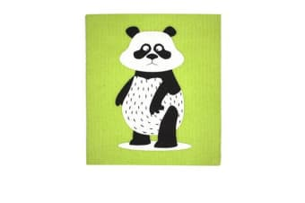 Retro Kitchen Swedish Dish Cloth Panda