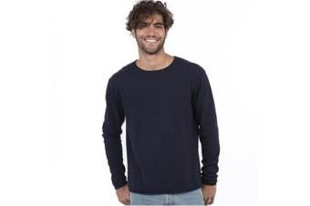 Ecologie Mens Arenal Lightweight Sweater (Black)