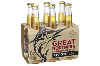 Great Northern Brewing Co. Super Crisp Lager 24 x 330mL Bottles