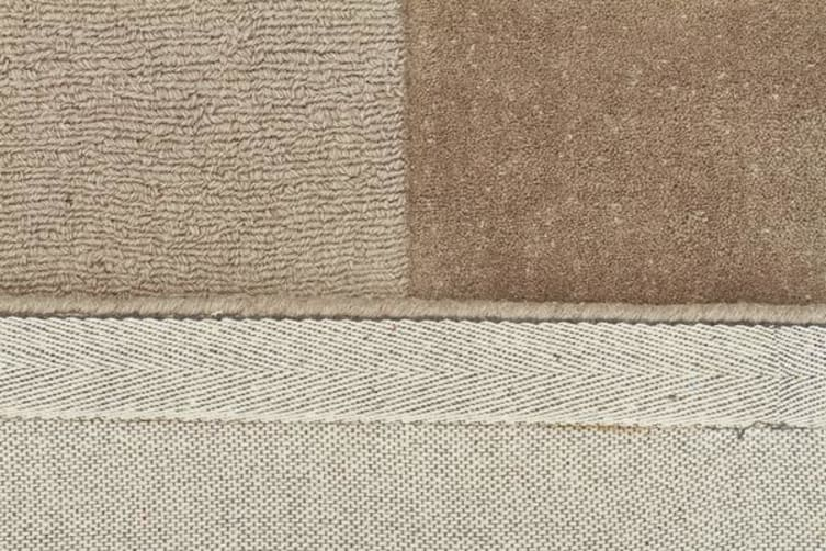 Wool Hand Tufted Rug - Box Taupe - 280x190cm