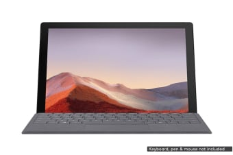 Microsoft Surface Pro 7 (i5, 8GB RAM, 256GB SSD, Black) - AU/NZ Model