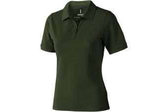 Elevate Calgary Short Sleeve Ladies Polo (Army Green) (L)