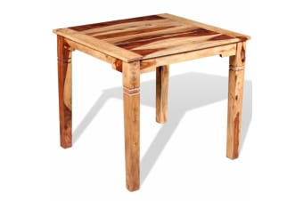 vidaXL Dining Table Solid Sheesham Wood 82x80x76 cm