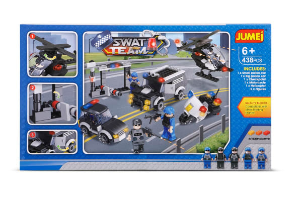Jumei Building Blocks - SWAT Team (Lego Compatible)
