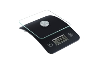 1g/5kg Digital Glass Top Kitchen Scale Electronic Multifunction Food Weight Scale Shop