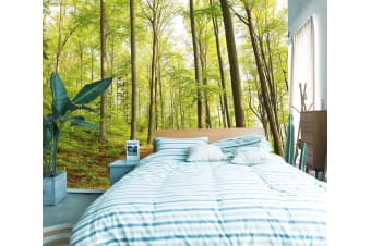 3D Clear Sky Forest 122 Wall Murals Self-adhesive Vinyl, XL 208cm x 146cm (WxH)(82''x58'')