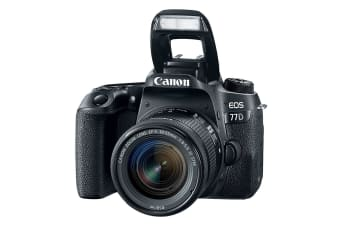 Canon EOS 77D 18-55mm Kit EF-S18-55mm f/4-5.6 IS STM