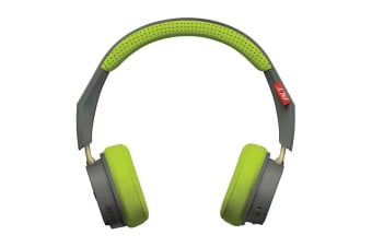 Plantronics BackBeat 505 Wireless Headphones - Gray/Green