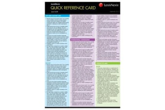 Quick Reference Card - Real Property Law