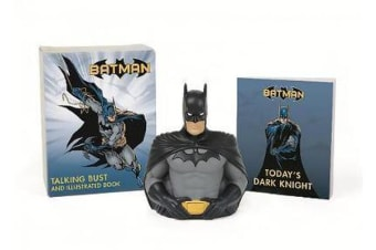 Batman - Talking Bust and Illustrated Book