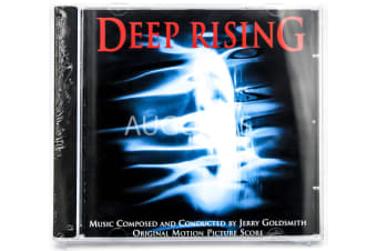 JERRY GOLDSMITH - Deep Rising BRAND NEW SEALED MUSIC ALBUM CD - AU STOCK