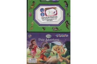 Tinkerbell Pixie Adventures Write and Draw