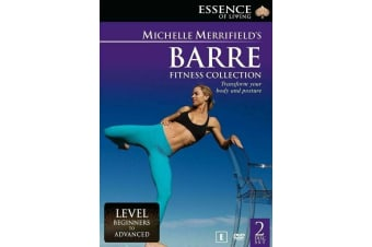 Michelle Merrifield -Barre Fitness Collection DVD Region4 New