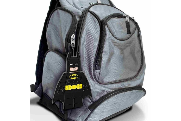 Lego Movie Batman Luggage Tag