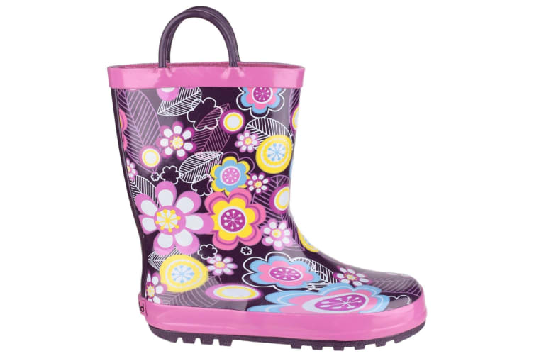 Cotswold Childrens Puddle Boot / Girls Boots (Flower) (29 EUR)