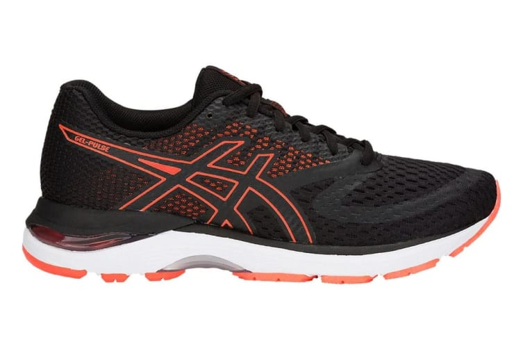 ASICS Women's Gel-Pulse 10 Running Shoe (Black/Black, Size 8)
