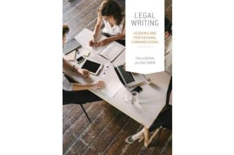 Legal Writing - Academic and Professional Communication