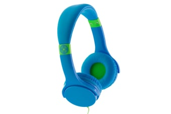 Moki Lil' Kids Safe Over Ear Headphones - Blue (ACCHPLILBL)