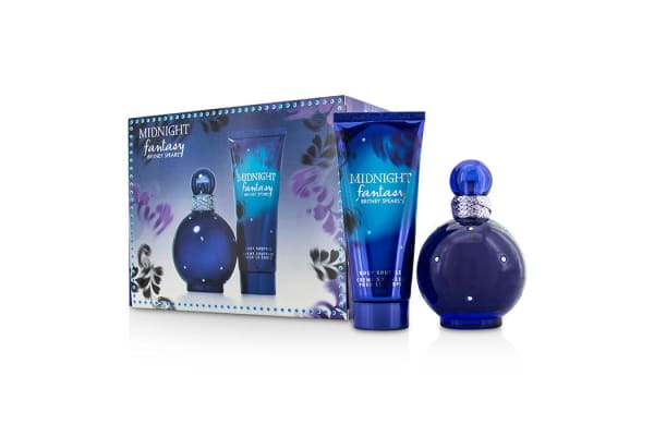 Britney Spears Midnight Fantasy Coffret: Eau De Parfum Spray 100ml/3.3oz + Body Souffle 100ml/3.3oz (2pcs)
