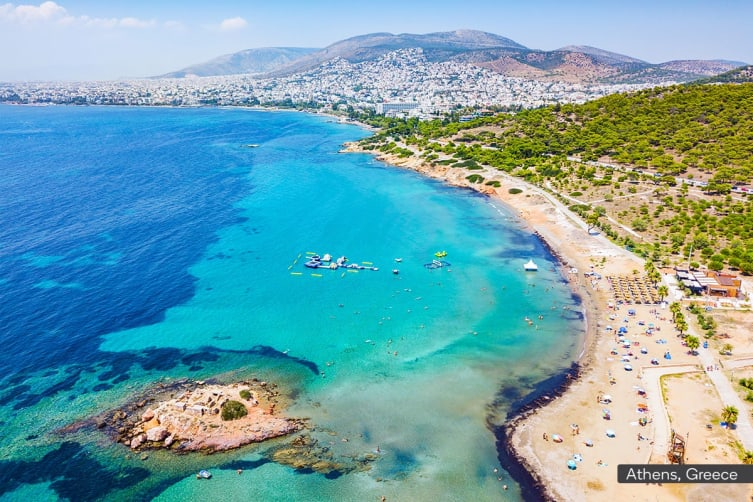 TURKEY & GREECE: 25 Day Turkey and Greece Tour Including Flights For Two (Balcony Cabin)