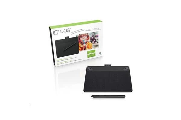"Wacom Intuos CTH-490, Photo Small Black Pen and Touch 3.7"" x 6"" with Photo bundled software"