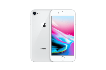 iPhone 8 - Silver 64GB - Refurbished Average Condition