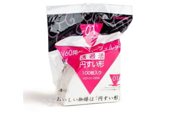 Hario V60-01 - 100 Filter Papers