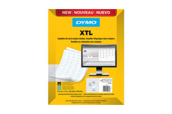DYMO XTL Laminated Wire/Cable Wraps (Sheet Labels)