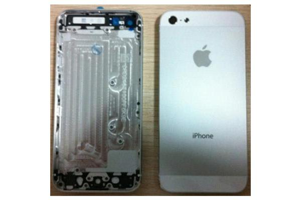 iphone 5S Middle Frame+Back Cover assembly Silver (Parts Only)