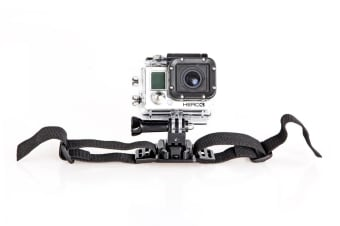 GoPro HERO Compatible Vented Helmet Strap Mount