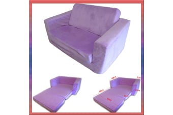 Kids Flip Out Sofa PURPLE Small