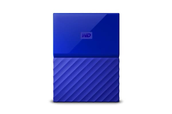 WD My Passport 2TB USB 3.0 Portable Hard Drive - Blue (WDBS4B0020BBL-WESN)