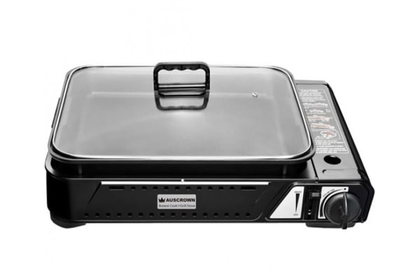 Auscrown Butane Cook'n'Grill Stove