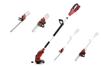 Certa 18V 5-in-1 PowerPlus Brush Cutter Line Trimmer Chainsaw and Whipper Snipper